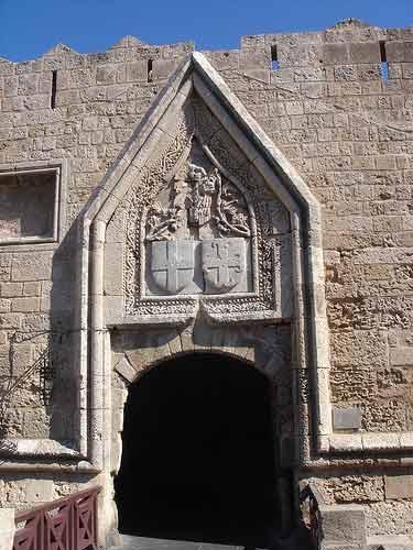 Gate Rhodes City Walls