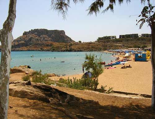 Rhodes Agathi Beach