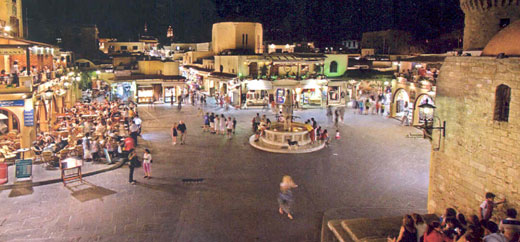 Rhodes Island Greece  Rhodes Town