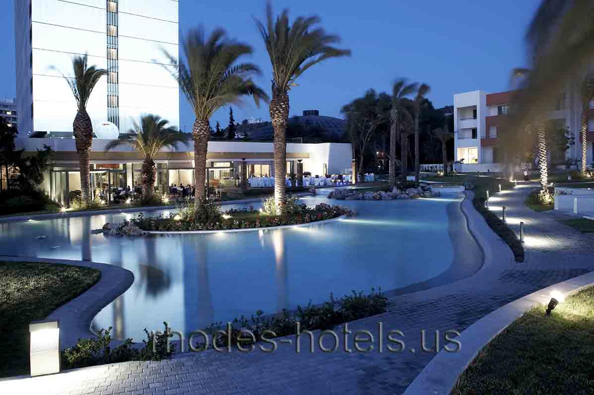 Hotel Rodos Palace toiles Rhodes Grece - Promovacances